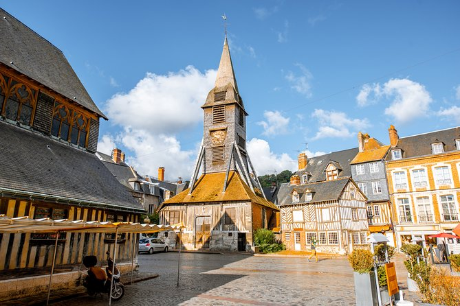 Honfleur Town, Normandie villages and Calvados from Bayeux