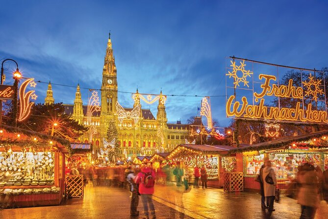 Full Day Private Vienna Christmas Market tour from Budapest with lunch