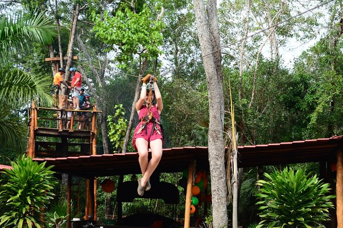 Activities Atv (single) Zipline and Cenote from Playa del carmen