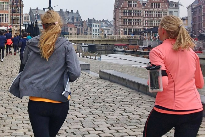 Small-Group Running Tour in Ghent