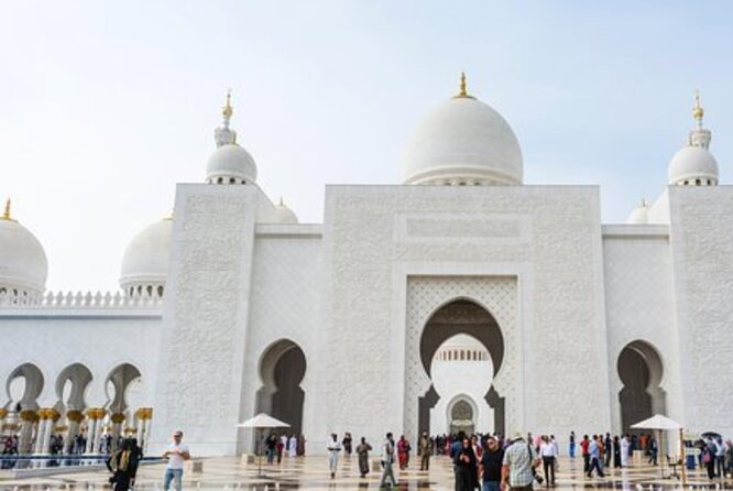 Full Day Tour Abu Dhabi from Dubai