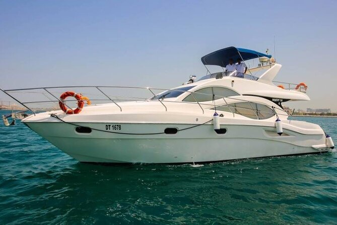Private Dubai Marina Luxury Yacht Rental with Transfer From Dubai