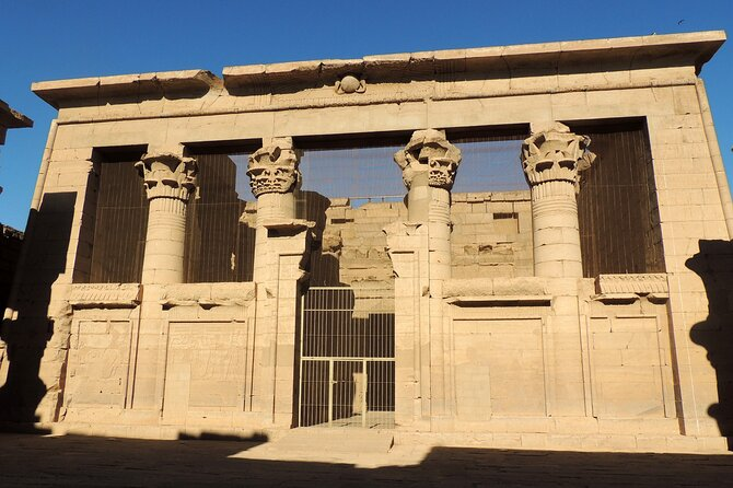 A private visit to the temples of the Philae, and Kalabsha with a French speaking guide