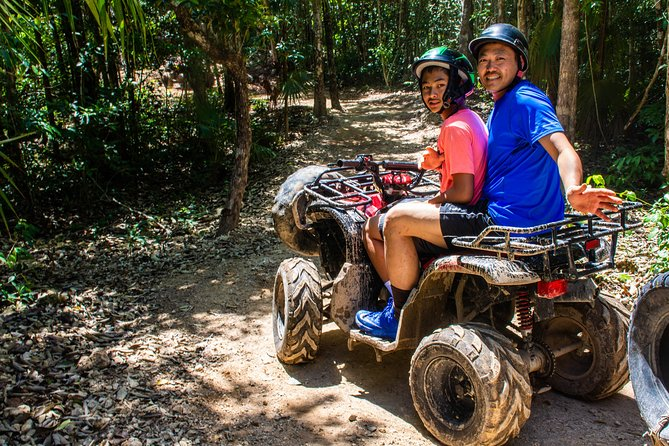 Adrenaline Tour Atv (shared) Cenote and Zipline from Cancun
