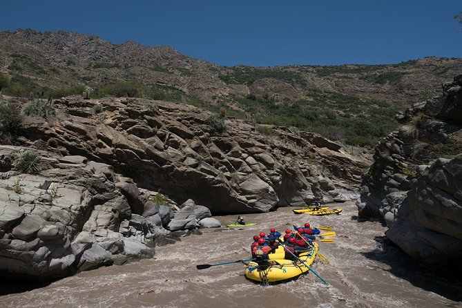 Maipo River Rafting with Traditional Chilean Asado Private Tour