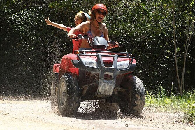Activities Atv (shared) Zipline and Cenote from Playa del carmen