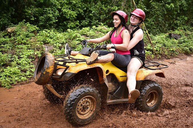Activities Atv (shared) Zipline and Cenote from Playa del carmen