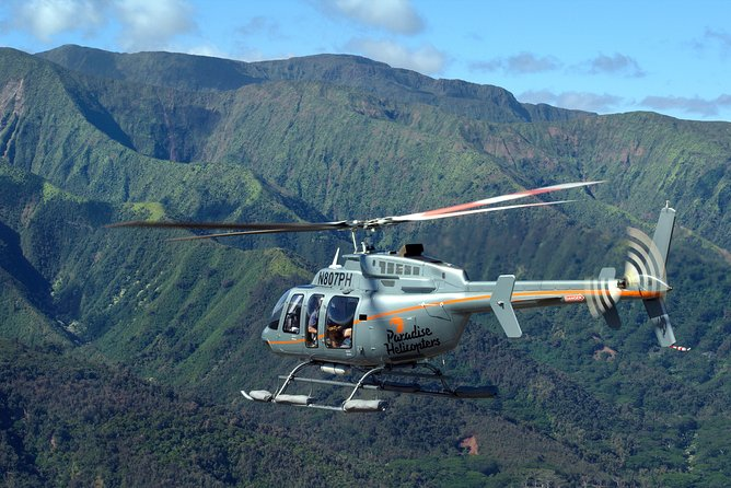 Private Helicopter Excursion of Maui Nui from Lana'i