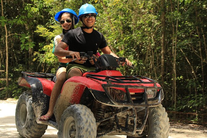 Tour ATV (shared) Zipline and cenote Includes Lunch