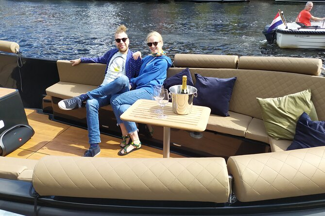 Private Canal Cruise in Haarlem with Greek Tapas