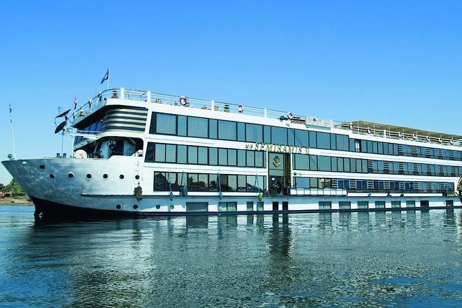 3 nights Nile cruise includes tours from Luxor to Aswan