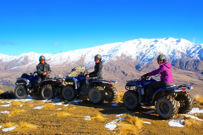 Cardrona Valley Mountain Quad Experience from Wanaka