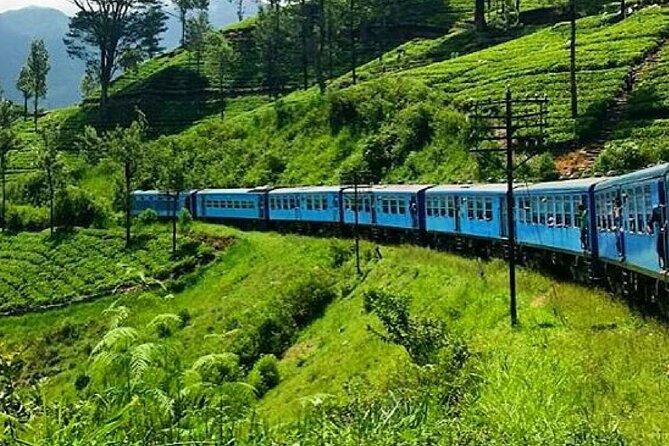 "Kandy to Badulla train ride on (Train No: 1005 ""Podi Menike"")"