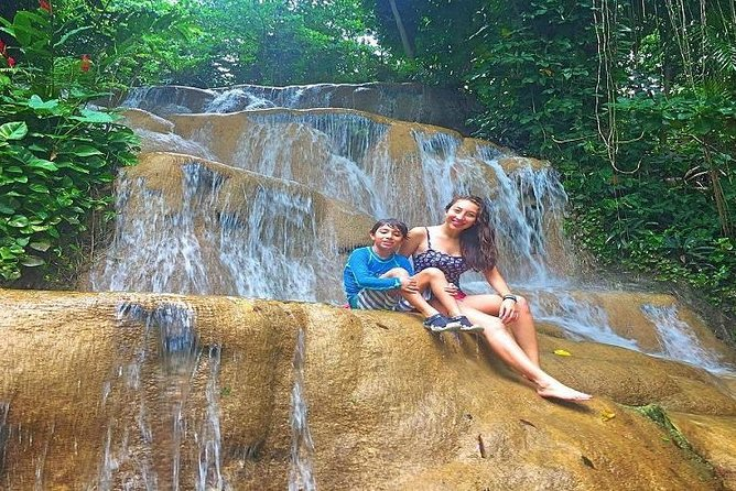 Konoko Falls and Park plus Blue Hole Private Tour
