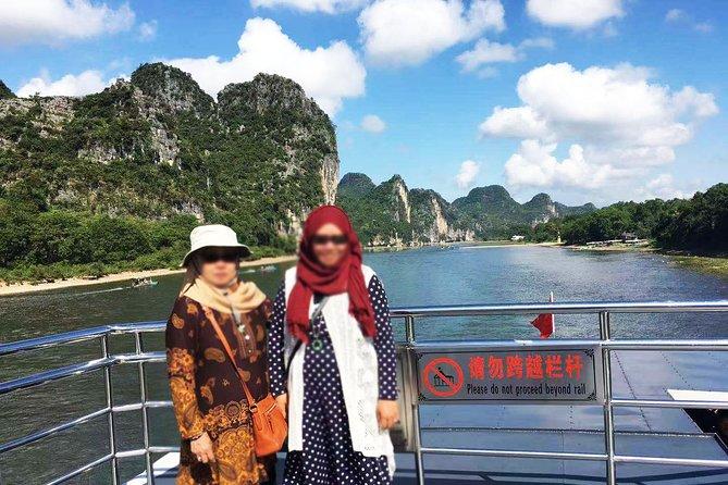 Guilin Muslim Day Tour: Li River Cruise, Yangshuo West Street & Reed Flute Cave