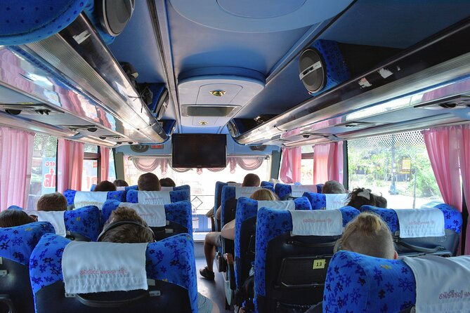 Ride by Lomprayah bus to Tapi Pier in Surat Thani