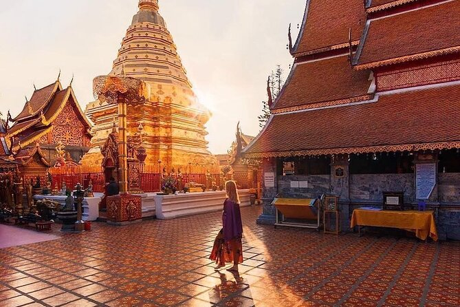 All Inclusive Chiang Mai Doi Suthep Temple and Sticky Waterfall Private Tour
