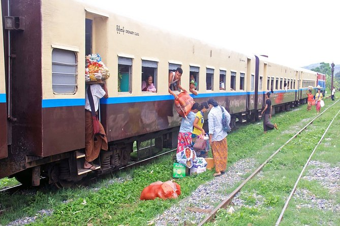 Yangon in a Day on Circular Train