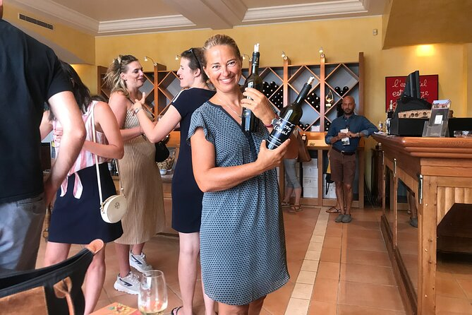Wine tour of Provence vineyards in the hills of Nice