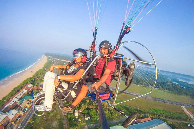 Paramotoring Experience from Bentota