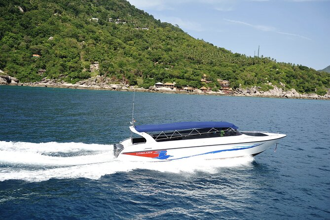 Koh Tao to Chumphon post COVID-19 Transfer by Lomlahk Khirin Speedboat
