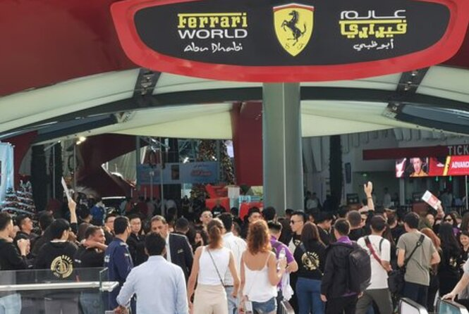 Enjoy Abu Dhabi City Tour With Ferrari World Tickets