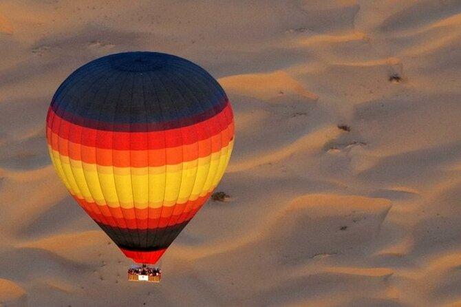 Enjoy Private Views Of Dubai Beautiful Desert By Hot Air Balloon From Dubai