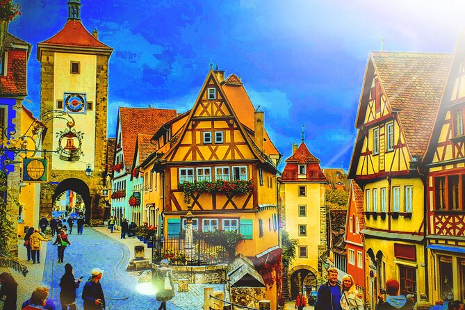 MY*GUiDE Exclusive & Unique ROMANTIC ROAD Tour from Munich to ROTHENBURG o.d.T.