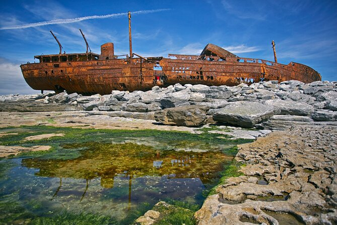 Aran islands & Cliffs of Moher including cruise day tour departing from Limerick