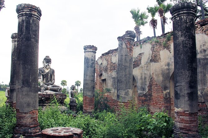 Finding Four Hidden Jewels in a Day (Amarapura, Mingun, Sagaing, Innwa)