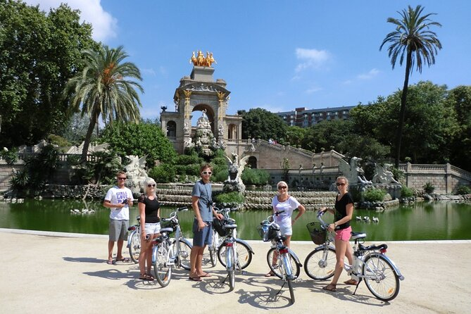 Barcelona E-Bike Highlights & Sagrada Familia Small Group Tour