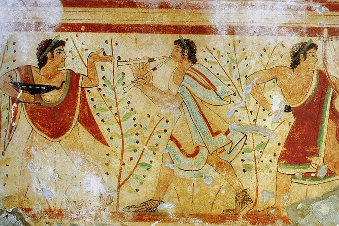 Etruscan necropolis of Tarquinia: frescoed tombs from pre-roman times – Private Tour