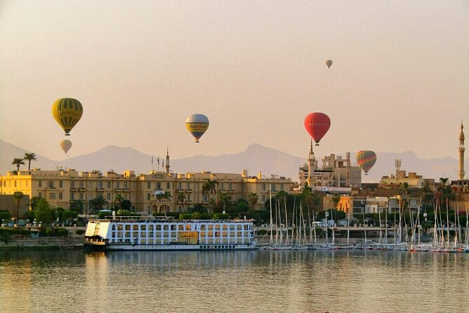 5 Days - Nile Cruise Aswan To Luxor,Balloon,Tours,with Sleeping Train From Cairo
