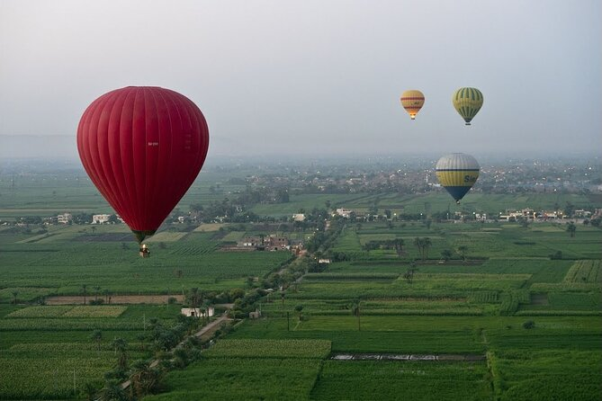 Tour package.. Hot Air Balloon with Luxor Full Day Tour East & West Banks Tours