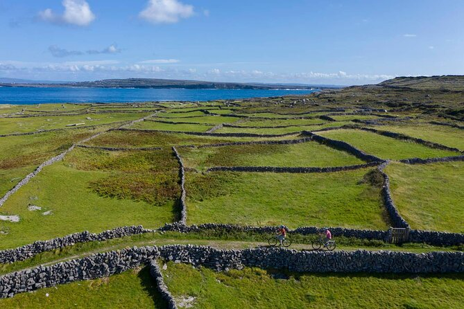 Cycling on Inishmore island. Guided/self-guided. Full day.