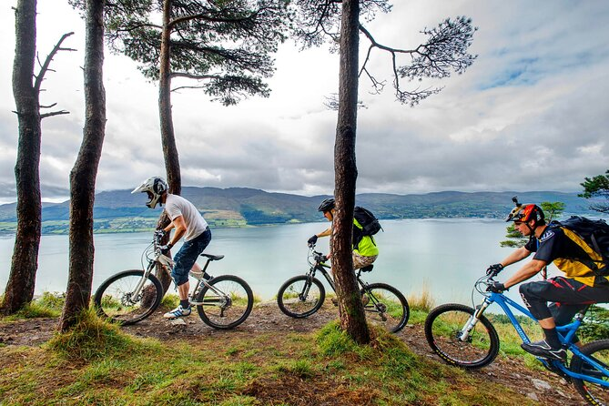 Mountain biking trails. Oughterard, Galway. Self-guided. Full day.