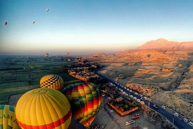 1 Night 2-Days Tours, Luxor West and East Bank includig Balloon,Hotel From Luxor