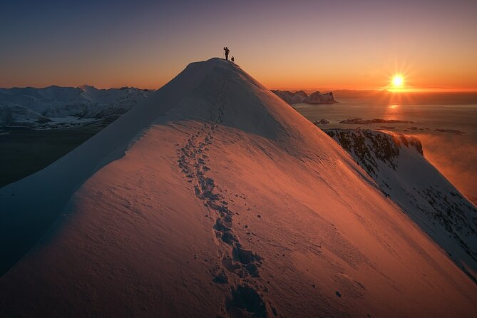 Small-group Snowshoeing Tour from Senja