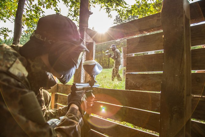 Outdoor Paintball with Hotel Transfers