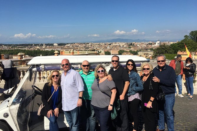 Private Golf Cart Tour of Rome - See Rome's major highlights in 3 hours.