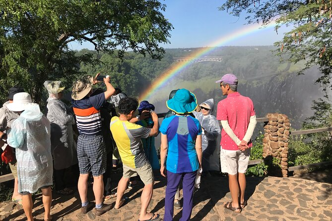 Guided Tour of The Victoria Falls and flight of angels