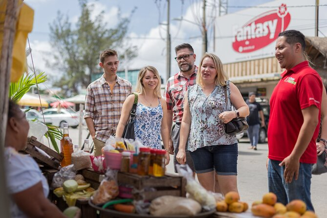 Cancun street food and market tour for small groups