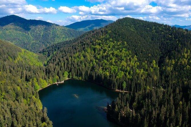 Day Trip to Carpathians from Lviv: Synevir Lake & Shypit Waterfall