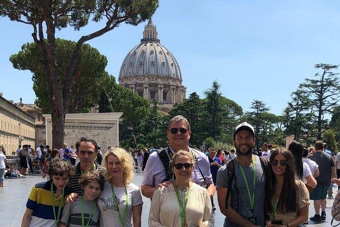 Sistine Chapel Tour for Kids & Families including Vatican Museums & Saint Peter