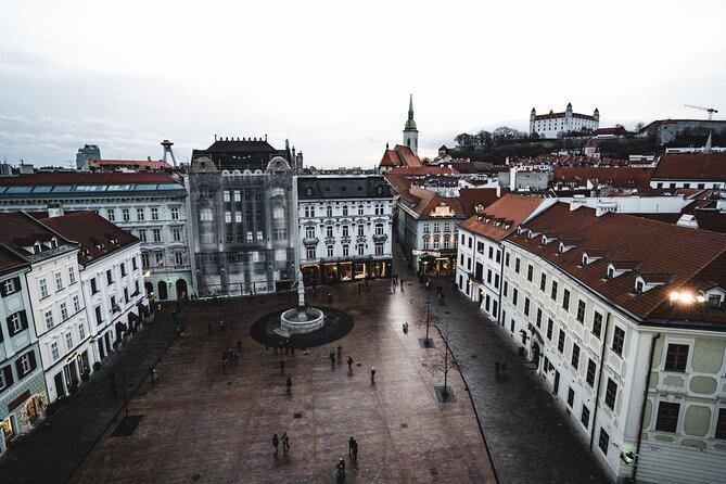 Surprise Walk of Bratislava with a Local