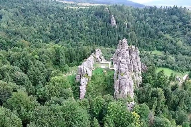 Full Day Tour to Carpathians Scole Bescides National Park & Tustan from Lviv