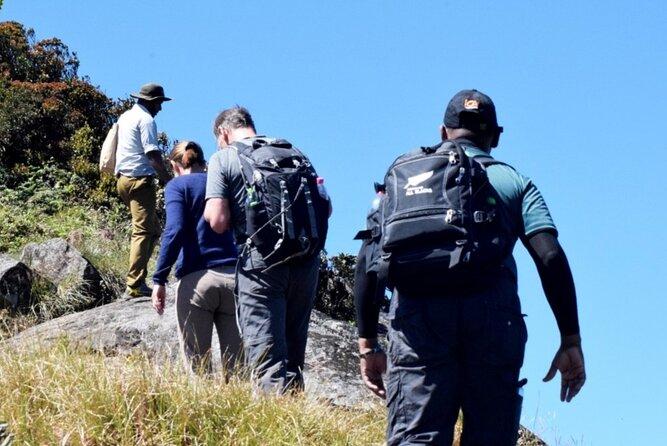 Hiking to Kirigalpoththa Mountain via Horton Plains