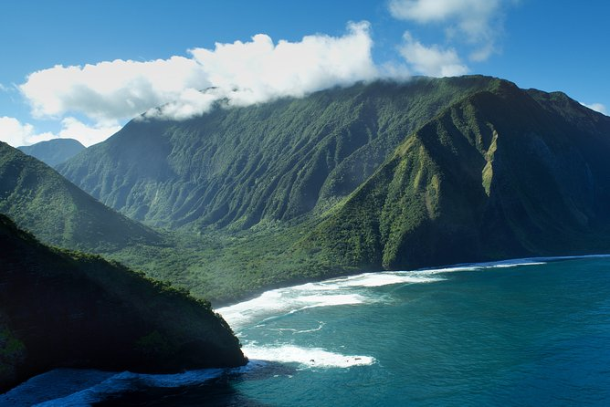 Private Helicopter Excursion over Moloka'i Sea Cliffs with Landing from Lana'i