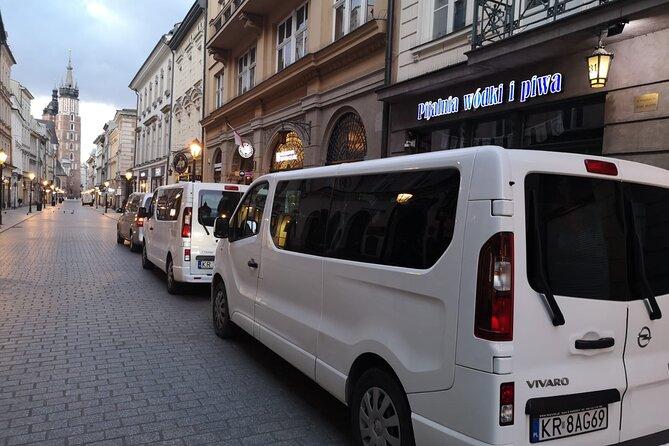Transfer from Krakow/Krakow Balice airport to Kielce