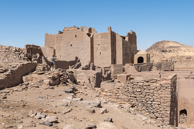 A Private Tour of San Simon Monastery, and the Tombs of the Nobles in Aswan
